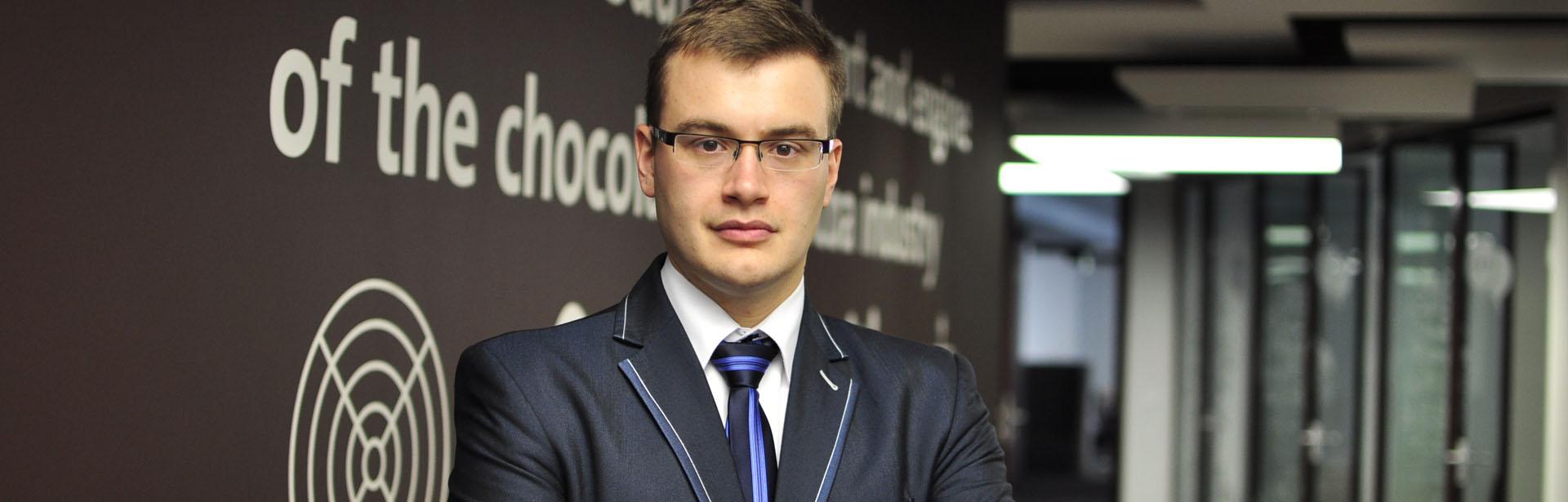 Team Leader w firmie Barry Callebaut, przyjechał do Polski w ramach wymiany studenckiej i...