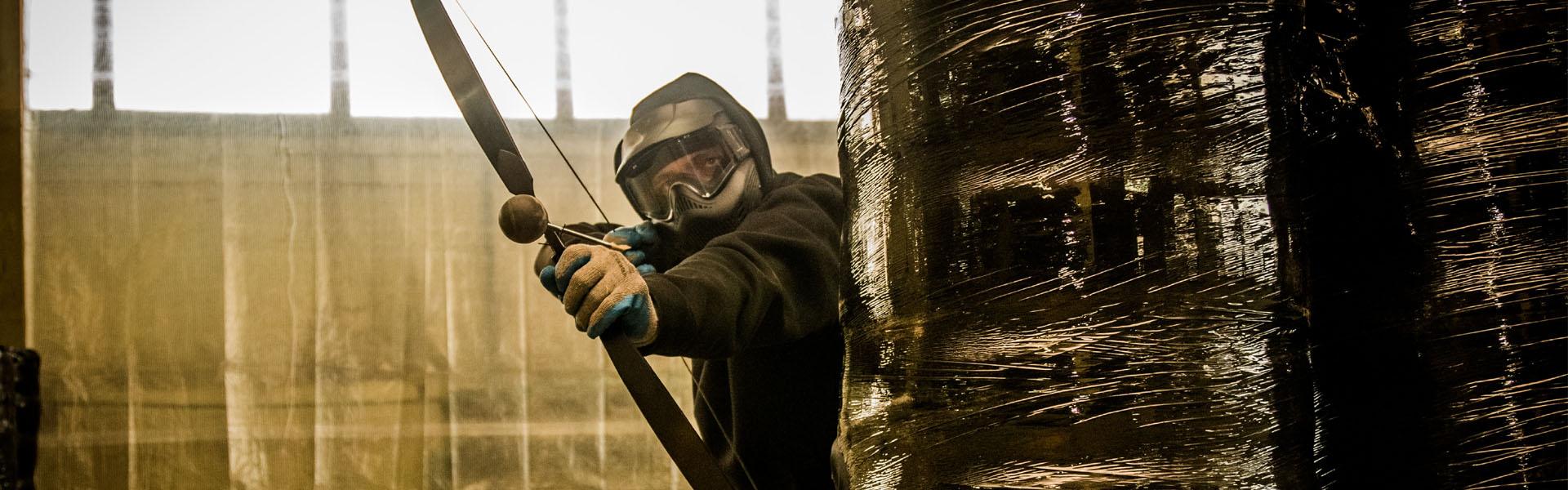 Razem z trójką swoich znajomych otworzył pierwszy w Polsce paintball łuczniczy pod dachem